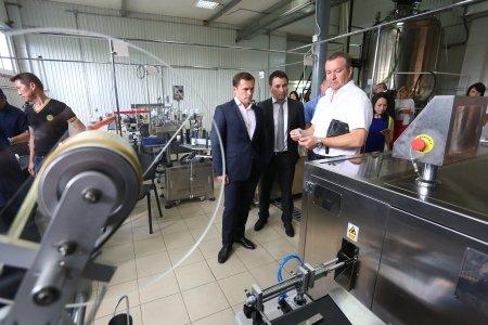На иркутском предприятии запустили производство по выпуску дезинфекционных растворов