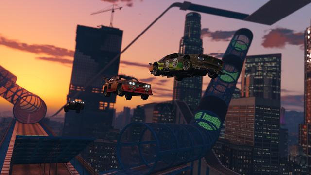 GTA Online получит дополнение для экстремальных гонок