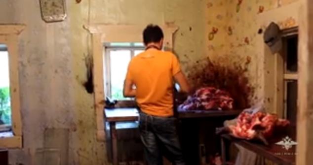 В Иркутске полицейские выявили подпольный цех по переработке мяса