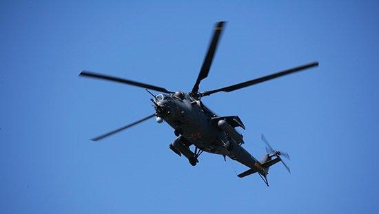 СМИ: ВСирии могли сбить российский вертолёт Ми-35М