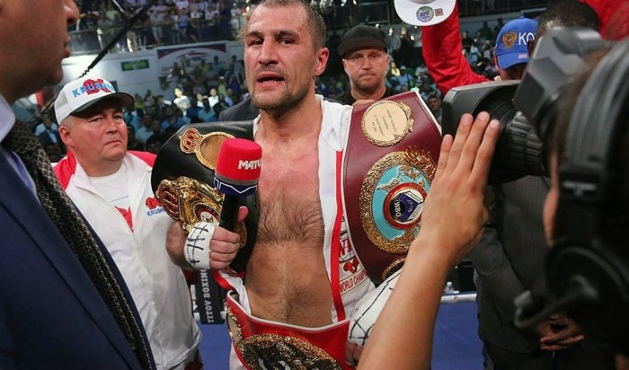 Ковалев защитил поясаIBF, WBO иWBA вбою сЧилембой