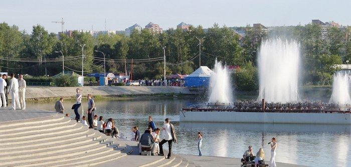 В Иркутске благоустраивают остров Юность