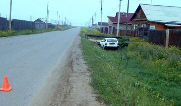 В Эхирит-Булагатском районе в ДТП по вине пьяного водителя пострадали двое детей