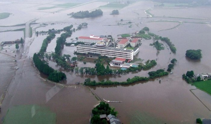 Из-за ливневых дождей вЯпонии могут эвакуировать более 66,5тысяч человек