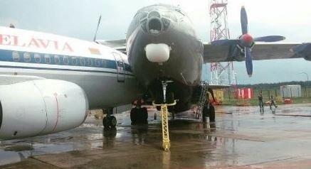 Два самолета столкнулись ваэропорту Минска