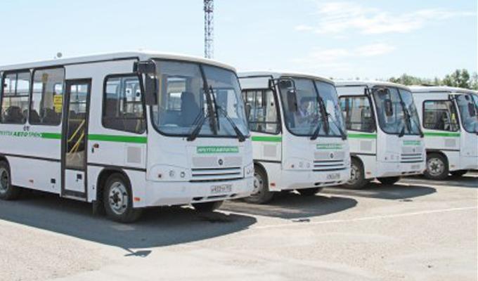 Десять новых автобусов «ПАЗ» выйдут  на маршруты Ленинского района Иркутска