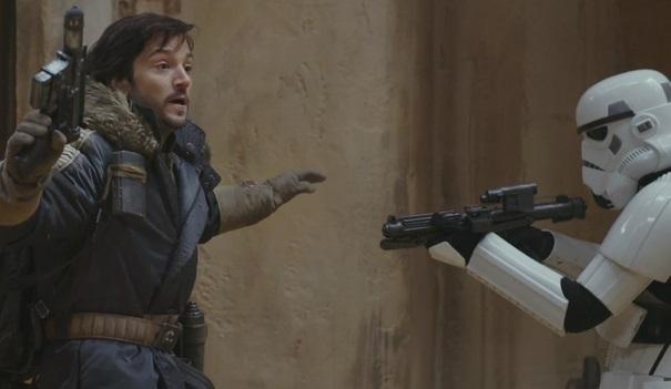 ВСети появился трейлер фильма «Изгой-один. Звёздные войны: Истории»
