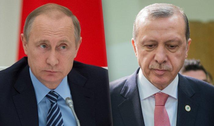 Путин обсудил сЭрдоганом военный мятеж ибезопасность туристов