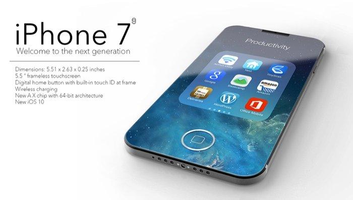 ВСети появились фото ивидео iPhone 7