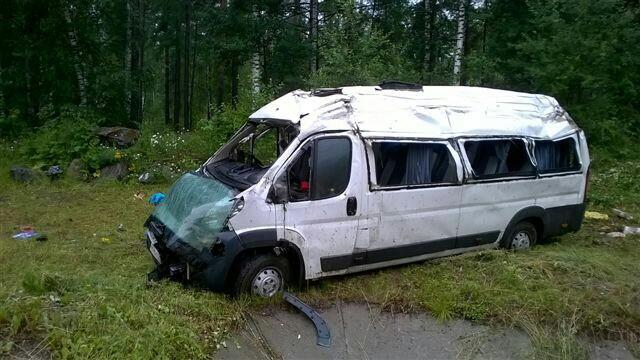 По факту крупного ДТП с участием маршрутки в Шелеховском районе возбудили уголовное дело