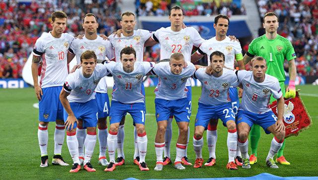 СМИ: Команда России пофутболу непроводит сбор, значит, она распущена