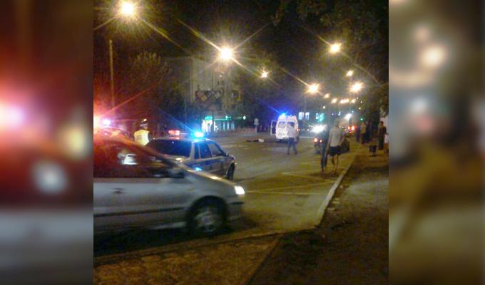 В Иркутске на улице Советской водитель Mercedes сбил человека