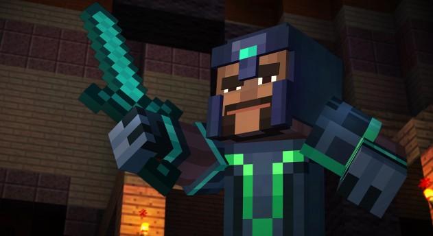 Minecraft: Story Mode предложит геймерам одолеть искусственный интеллект