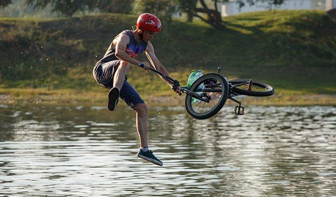 23 июля в Иркутске пройдет первый в этом сезоне акваджампинг