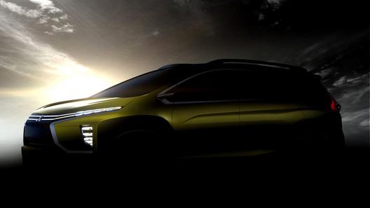 Mitsubishi опубликовала тизер кроссовера набазе концепта eX