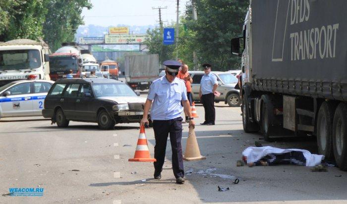 В Иркутске в ДТП на улице Ракитной погиб 32-летний мотоциклист