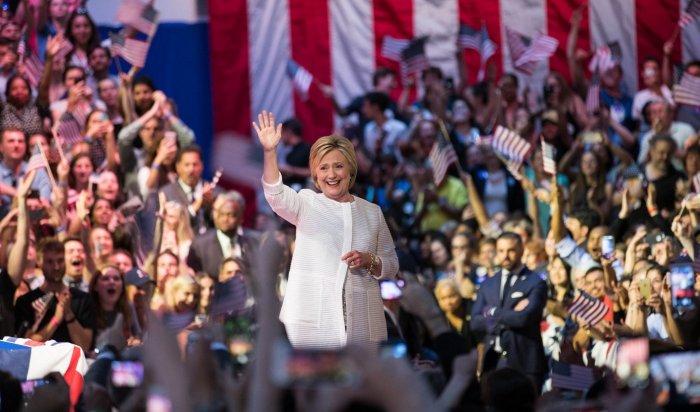 Клинтон стала первой женщиной-кандидатом впрезиденты США