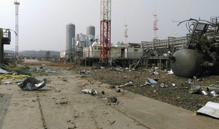 Пофакту взрыва напредприятии «Роснефти» вПриангарье возбудили уголовное дело