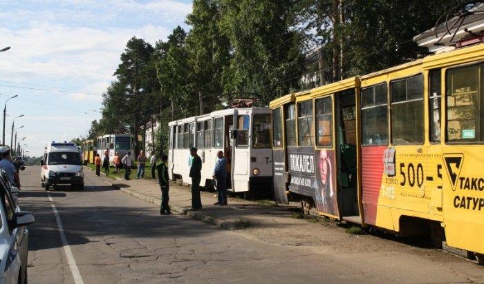 В Ангарске в результате столкновения двух трамваев пострадали 9 человек