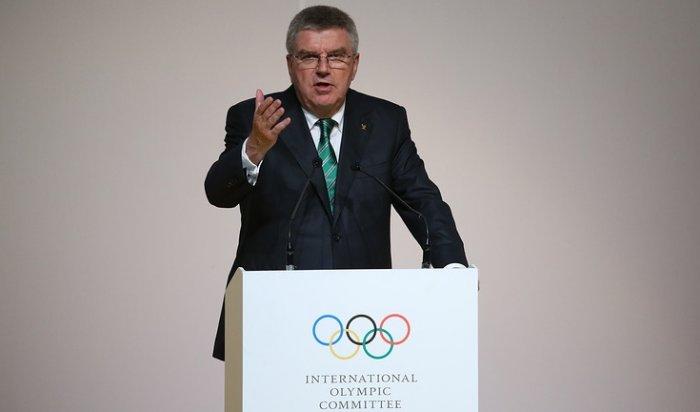 Глава МОК объяснил допуск российских спортсменов кучастию вОлимпиаде