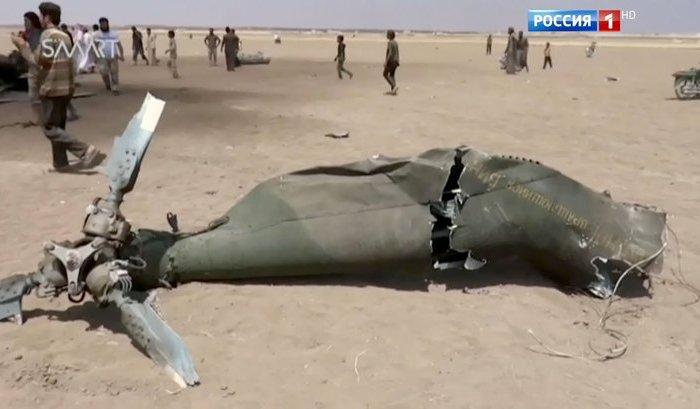 ВСирии сбит российский вертолет Ми-8