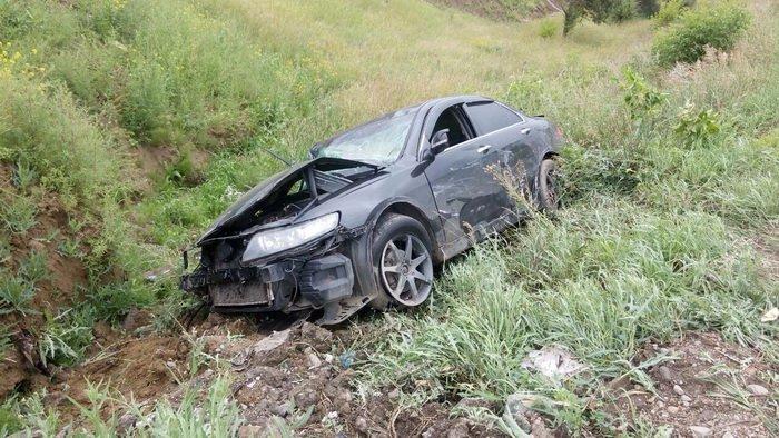 В Иркутске на объездной дороге Ново-Ленино столкнулись три иномарки