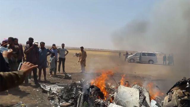 СМИ: Сирийская группировка захватила тела членов экипажа Ми-8