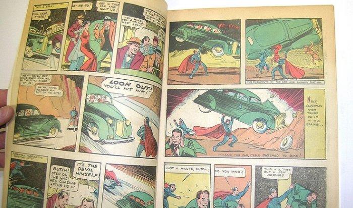 Первый комикс про Супермена продали почти замиллион долларов