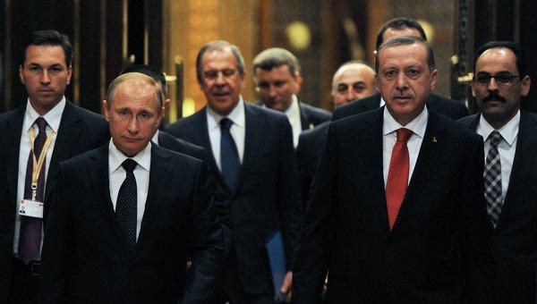Путин иЭрдоган планируют обсудить условия компенсации засбитый Су-24