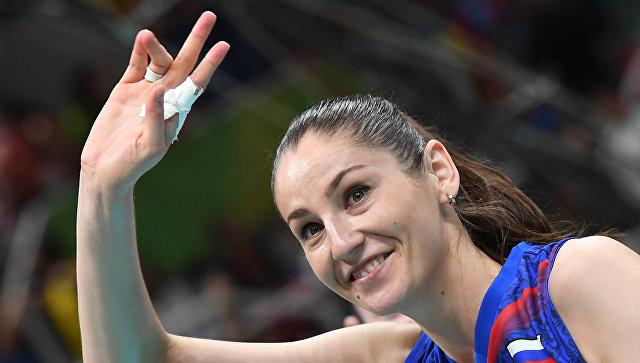 Российские волейболистки обыграли команду Аргентины в стартовом матче Олимпиады-2016