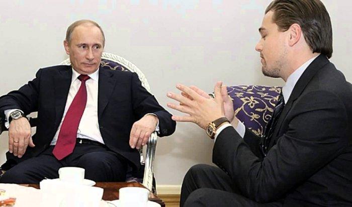 Владимир Путин и Леонардо Ди Каприо могут озвучить фильм «Байкал — сердце мира»
