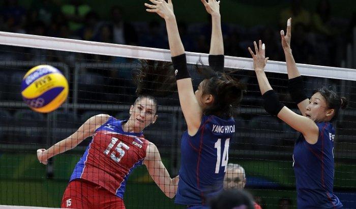 Российские волейболистки обыграли команду Южной Кореи наОИ-2016