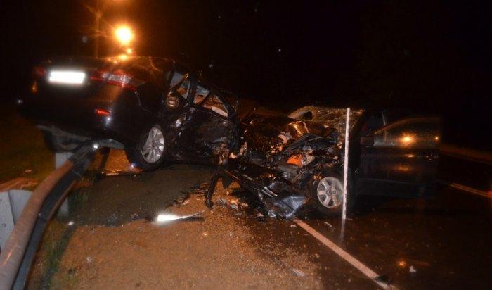 ВУсолье-Сибирском встрашной аварии погибли два человека
