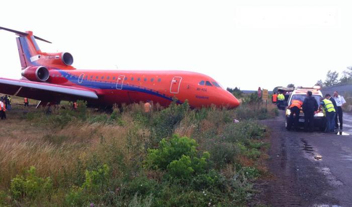 Пассажирский Як-42совершил жесткую посадку ваэропорту Уфы