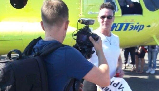 Иркутянка сдвинула вертолет Ми-8наавиашоу вТюмени