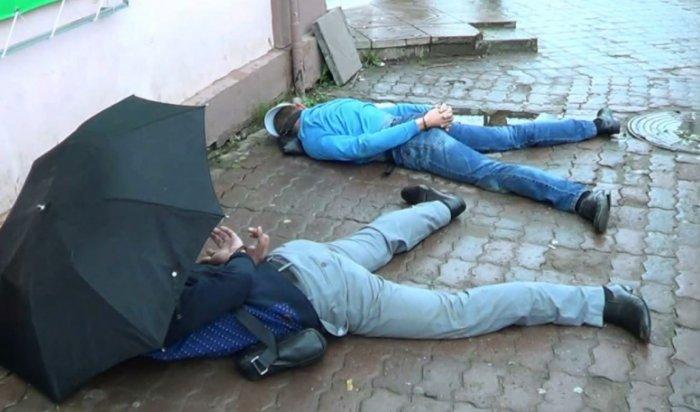 ВИркутске задержаны предполагаемые автомобильные воры