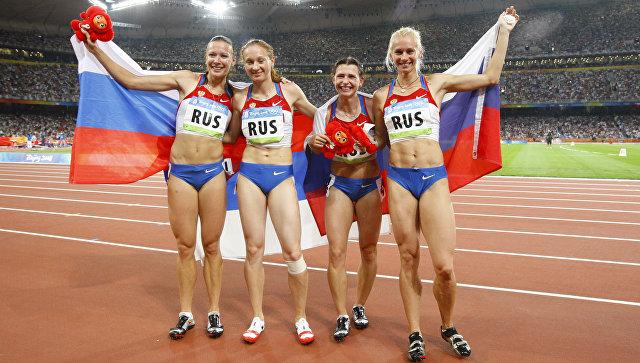 МОК лишил Россию «золота» Олимпиады-2008 вПекине вэстафете 4×100