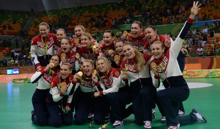 Российские гандболистки стали победительницами Игр-2016