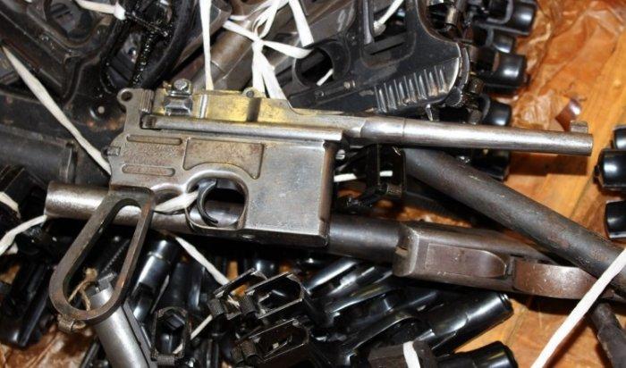 В Иркутске уничтожили почти 1600 единиц различного оружия
