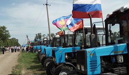 Кубанские фермеры отменили «тракторный марш» доМосквы