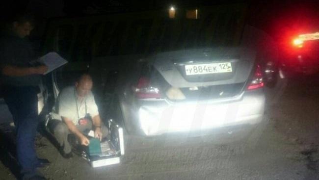 Автоледи изВладивостока обнаружила труп вбагажнике своего авто