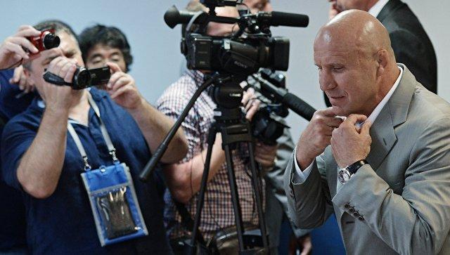 Мамиашвили извинился перед женской сборной РФпоборьбе