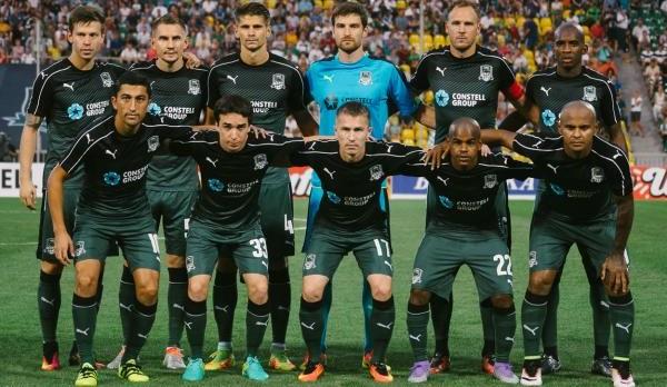 «Краснодар» вышел вгрупповой раунд Лиги Европы