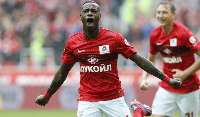 «Спартак» обыграл «Анжи» вматче пятого тура РФПЛ