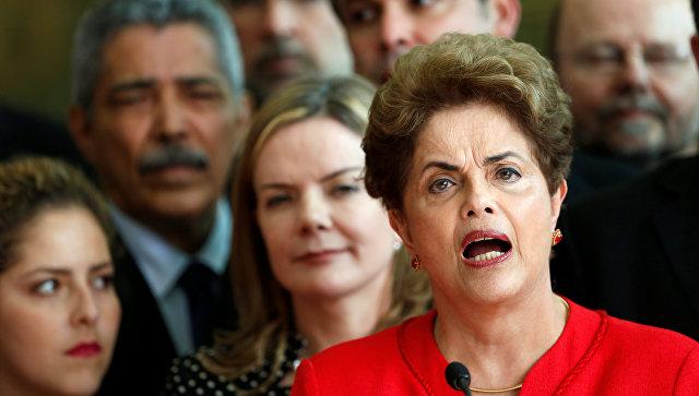 Президент Бразилии после отставки закончила речь цитатой Маяковского