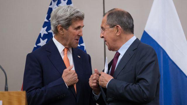 СМИ: Лавров и Керри пока не согласовали перемирие в Сирии