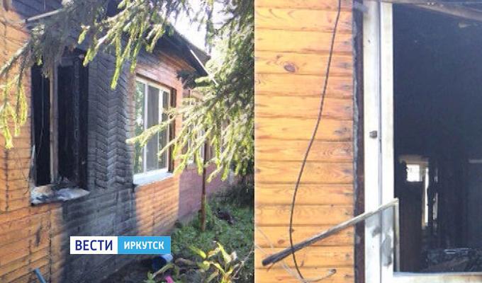 Неизвестные пытались сжечь дом главы поселка в Заларинском районе