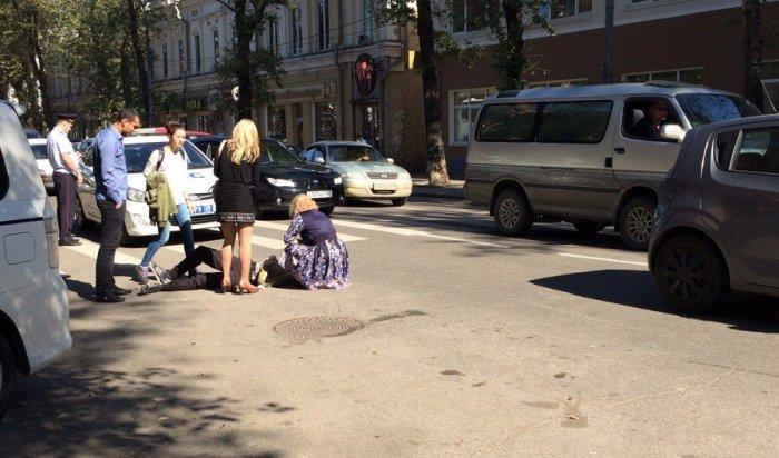 В Иркутске на улице Карла Маркса сбили 15-летнего подростка
