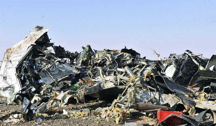 Эксперты установили место закладки бомбы вразбившемся А321