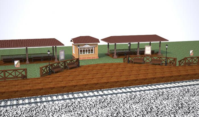 На КБЖД начали строить пассажирские платформы в ретростиле